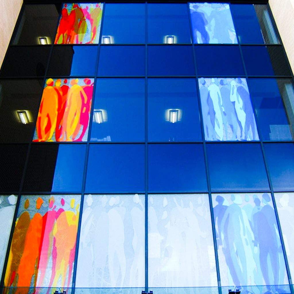 Architectural Glass: Emergency Services HQ, Poole