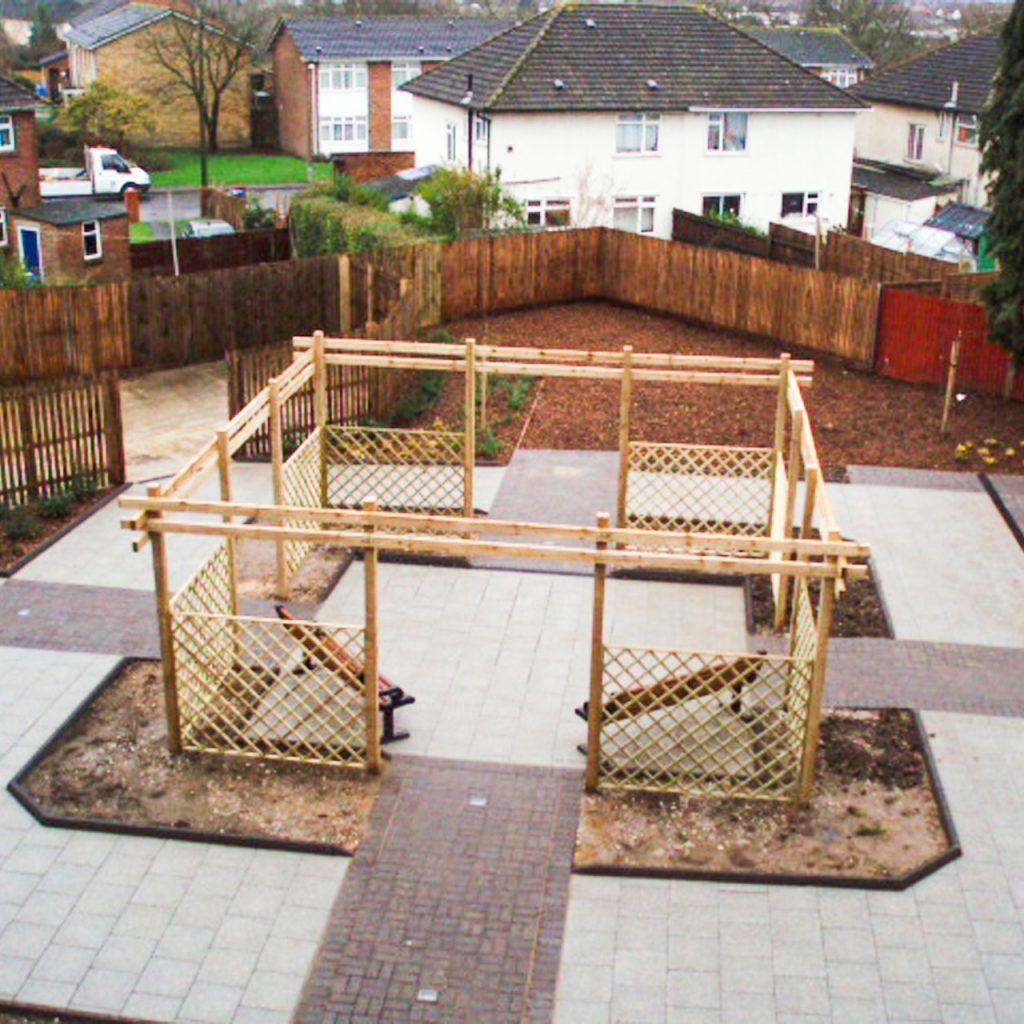 Courtyard Enhancement